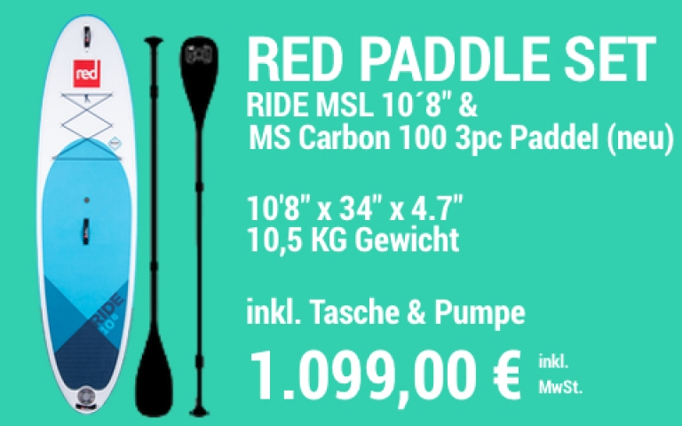 MAIN SUP Showroom RED SET Ride 10.8 MS Carb 100 3pc