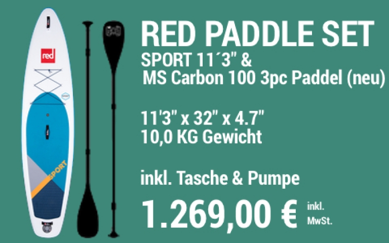 MAIN SUP Showroom RED SET Sport 11.3 MS Carb 100 3pc
