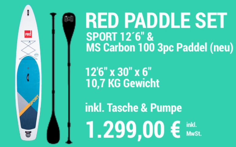 MAIN SUP Showroom RED SET Sport 12.6 MS Carb 100 3pc