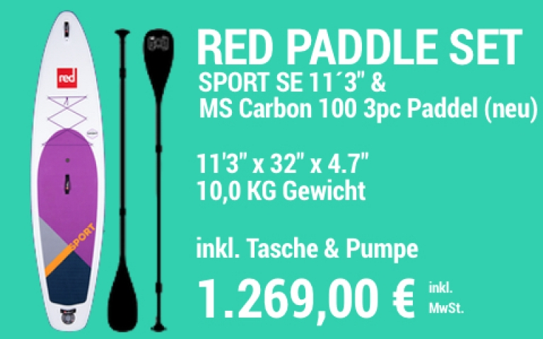 MAIN SUP Showroom RED SET Sport SE 11.3 MS Carb 100 3pc