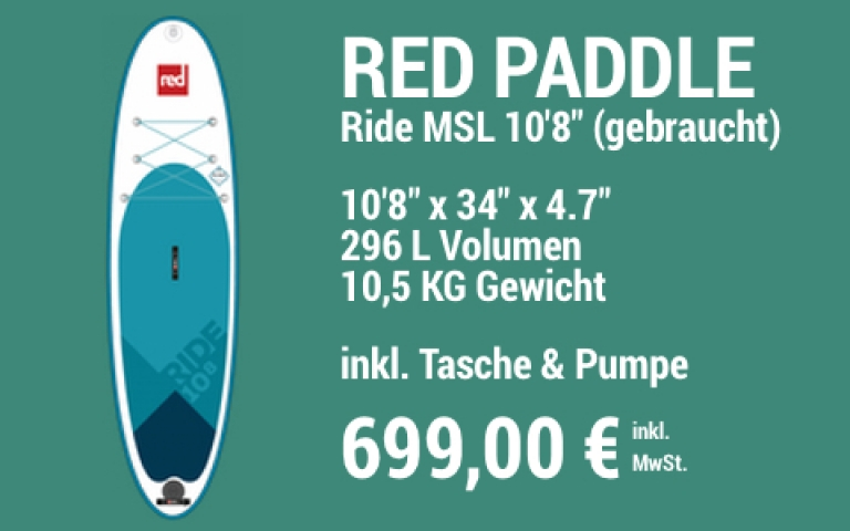 MAIN SUP Showroom Red Ride 10.8